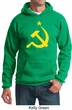 Russian Hoodie Hammer and Sickle USSR Adult Hoody Sweatshirt