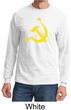 Russian Shirt Hammer and Sickle USSR Adult Long Sleeve Shirt