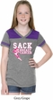 Sack Breast Cancer Girls Football Shirt