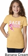 Sack Breast Cancer Girls Shirt