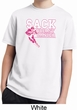 Sack Breast Cancer Kids Moisture Wicking Shirt