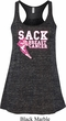 Sack Breast Cancer Ladies Flowy Racerback Tanktop