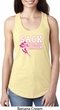 Sack Breast Cancer Ladies Ideal Tank Top