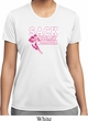 Sack Breast Cancer Ladies Moisture Wicking Shirt