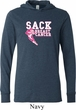Sack Breast Cancer Lightweight Hoodie Tee