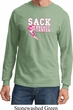 Sack Breast Cancer Long Sleeve Shirt