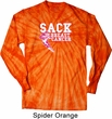 Sack Breast Cancer Long Sleeve Tie Dye Shirt