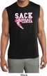 Sack Breast Cancer Mens Sleeveless Moisture Wicking Shirt