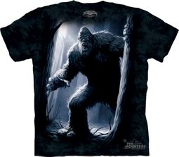 Sasquatch Shirt Tie Dye Bigfoot Yeti Forest T-shirt Adult Tee
