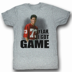 Saved By The Bell Shirt I Got Game Adult Grey Heather Tee T-Shirt