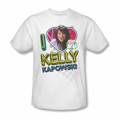 Saved By The Bell Shirt Kelly White T-Shirt