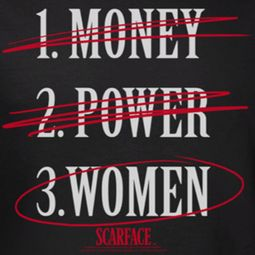 Scarface Money Power Women Shirts