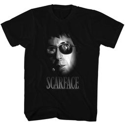 Scarface Shirt Aviators Black T-Shirt
