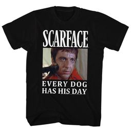 Scarface Shirt His Day Black T-Shirt