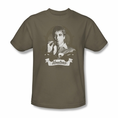 Scarface Shirt Montana Adult Safari Green Tee T-Shirt
