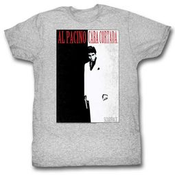 Scarface Shirt Movie Poster Athletic Heather T-Shirt