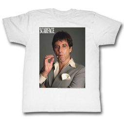 Scarface Shirt Movie Poster White T-Shirt