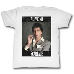 Scarface Shirt Pacino As Scarface White T-Shirt