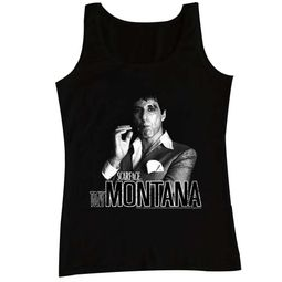 Scarface Shirt Tank Top Tony Montana Black Tanktop