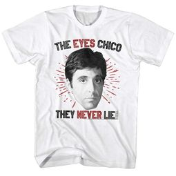 Scarface Shirt The Eyes Never Lie White T-Shirt