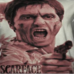 Scarface War Cry Sublimation Shirts