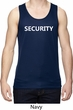 Security Guard Mens Moisture Wicking Tanktop