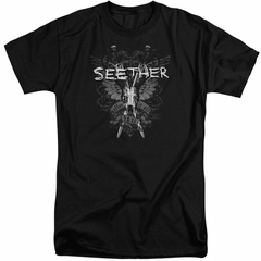 Seether Shirt Suffer Black Tall T-Shirt