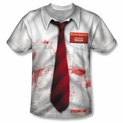 Shaun Of The Dead Bloody Sublimation Shirt