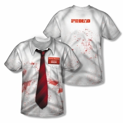 Shaun Of The Dead Bloody Sublimation Shirt Front/Back Print