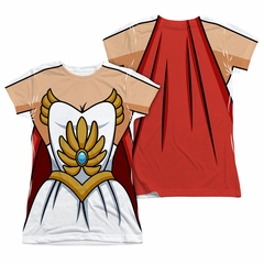 She-Ra Costume Sublimation Juniors Shirt Front/Back Print