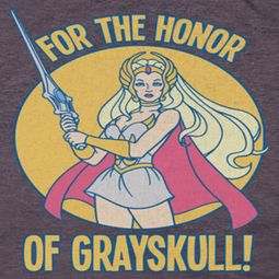 She-Ra Honor Of Grayskull Premium Shirts