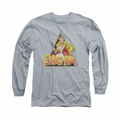She-Ra Shirt Rough Ra Long Sleeve Athletic Heather Tee T-Shirt