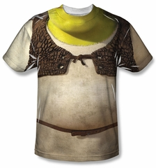 Shrek Costume Sublimation Shirt