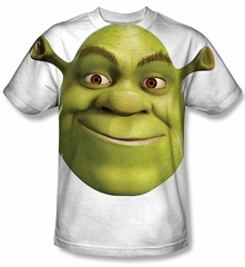 Shrek Head Sublimation Shirt