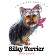 Silky T-shirt - I'm a Proud Owner of a Silky Terrier - Posh Pooch Tee