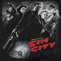 Sin City Movie Poster Shirts