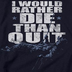 Six No Quitting Shirts