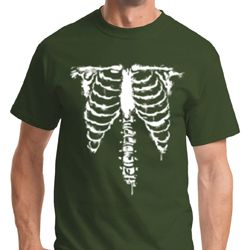 Skeleton Mens Halloween Shirts