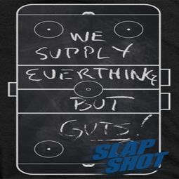 Slap Shot Chalk Board Shirts