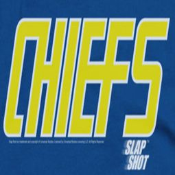 Slap Shot Chiefs Logo Shirts