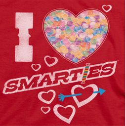 Smarties I Heart Smarties Shirts