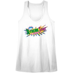 Smarties Juniors Tank Top X-Treme Sour White Racerback