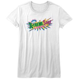 Smarties Shirt Juniors X-Treme Sour White T-Shirt