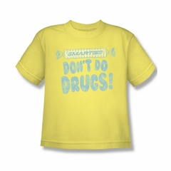 Smarties Shirt Kids Don't Do Drugs Banana T-Shirt