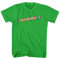 Smarties Shirt Logo Green Heather T-Shirt