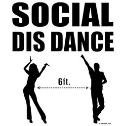 Social Distance Dance Shirts