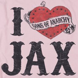 Sons Of Anarchy SOA I Heart Jax Shirts