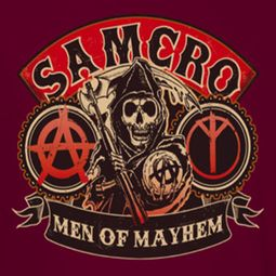 Sons Of Anarchy SOA Men Of Mayhem Shirts