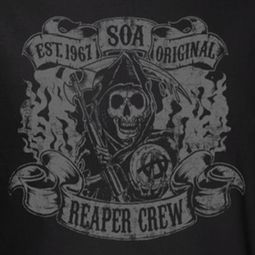 Sons Of Anarchy SOA Original Reaper Crew Shirts