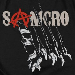 Sons Of Anarchy SOA Rip Through Shirts